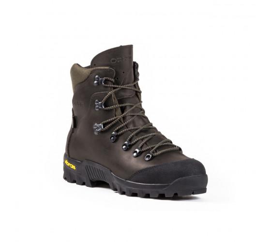 Zimná poľovnícka  obuv - FIRE 405 - tmavo hnedé